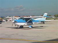 EC-HRR @ MCV - Cessna TU 206G Turbo Stationair at Madrid Cuatro Vientos airfield