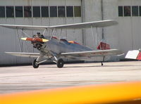 LV-YZP @ MCV - Focke-Wulf Fw 44 Stieglitz at Madrid Cuatro Vientos airfield - by Ingo Warnecke