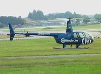 LN-OGC @ ENZV - Robinson R.44 at Stavanger Sola airport
