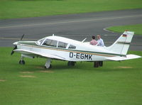 D-EGMK @ EDKB - Piper PA-28R-200 Cherokee Arrow at Bonn-Hangelar airfield - by Ingo Warnecke