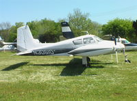 N3051D @ BHM - Cessna 310 at Southern Museum of Flight Aircraft Park, Birmingham AL Airport