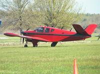 N12711 @ KTHA - Beechcraft K35 Bonanza at Beechcraft Heritage Museum, Tullahoma Regional Airport