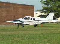 N70VP @ KTHA - Beechcraft 58 Baron at Beechcraft Heritage Museum, Tullahoma Regional Airport