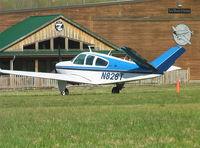 N826T @ KTHA - Beechcraft V35B Bonanza at Beechcraft Heritage Museum, Tullahoma Regional Airport