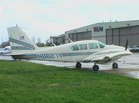 N6627Y @ KLEX - Piper PA-23-250 Aztec F at Lexington Blue Grass Airport