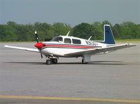 N91307 @ KMAC - Mooney M.20J at Macon Downtown Airport GA