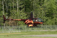 C-FFSO @ CYQB - During hover - by Marius Gagnon