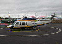 G-LJRM @ EGLK - ONE OF FIVE S.76 IN THE PREMIAR COMPOUND OF THREE VARIANTS SEEN THIS DAY - by BIKE PILOT