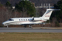 N817MB @ ORF - Koury Aviation, Inc 1993 Cessna 650 Citation III N817MB holding short of RWY 23 on Foxtrot prior to departure to Piedmont Triad Int'l (KGSO) - Greensboro, NC. - by Dean Heald