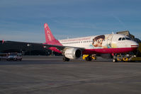 D-AKNR @ VIE - Germanwings Airbus 319