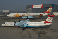 OE-LGA @ VIE - Austrian Arrows Dash 8-400 together with OE-LAL