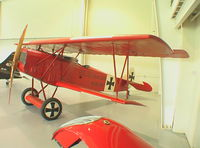 N1918F @ 42VA - Fokker D VII replica at Military Aircraft Museum, Virginia Beach VA