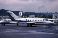 N418CT @ KBFI - KBFI (RJ-42 seen here as N444WB currently registered N418CT)