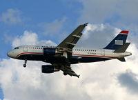 N715UW @ TPA - US Airways A319