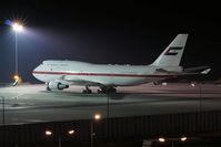 A6-UAE @ VIE - Boeing 747-48E