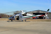 XC-TAM @ GPM - At Grand Prairie Municipal - Mexican Registered Bell 430