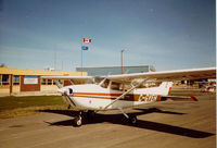 C-GYEH @ CYZH - A brief stop at Slave Lake. Home base Namao Flying Club. - by Mike McDonald
