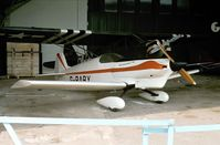 G-BABY - Taylor Titch at the Shuttleworth Collection in Summer 1979