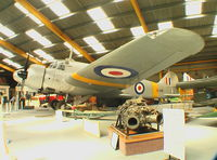 G-AVVO - Avro Anson C.19 of RAF at Newark Air Museum