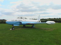 51-9036 - Lockheed T-33A of USAF at Newark Air Museum