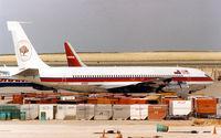 N106BV @ DFW - Buffalo Airways 707 at Dallas Fort Worth International - by Zane Adams