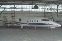 OE-GKN @ VIE - Transair Learjet 55