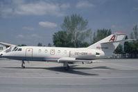 OE-GNN @ VIE - Alpenair Falcon 20