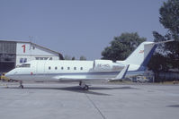 OE-HCL @ VIE - Polsterer Jets Challenger 600