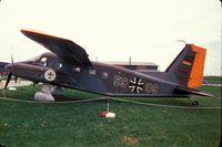 59 09 - Dornier Do 28D-2 Skyservant of Marineflieger (German Naval Air Arm) at Schleswig Jagel Airbase 1978