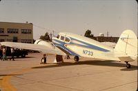 N733 @ GUS - Cessna T-50/UC-78 Bobcat at Grissom AFB Airshow