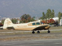 N2218P @ POC - Taxiing at Brackett - by Helicopterfriend