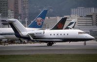 N664CW @ VHHH - VHHH (Seen here at Kai Tak as N224F and currently registered as posted N664CW)