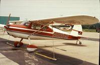 N89848 @ UMP - Cessna 140 at Indianapolis Metropolitan Airport