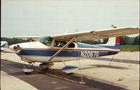 N2067G @ UMP - Cessna 182A Skylane at Indianapolis Metropolitan Airport