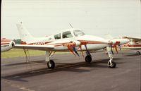 N6817T @ UMP - Cessna 310D at Indianapolis Metropolitan Airport