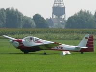 D-KNAE @ EDLF - Scheibe SF-25E Super Falke D-KNAE - by Alex Smit