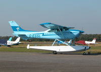 G-ESSL @ EGLK - TAXYING IN AFTER A FLIGHT DOWN TO THE SOLENT - by BIKE PILOT
