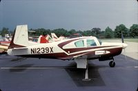 N1239X @ UMP - Mooney M20E Super 21 at Indianapolis Metropolitan Airport