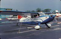 N97245 @ UMP - Stinson 108 Voyager at Indianapolis Metropolitan Airport