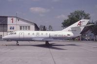 OE-GUS @ VIE - Alpenair Falcon 20
