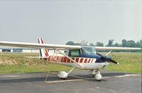 N714JU @ UMP - Cessna 150M at Indianapolis Metropolitan Airport