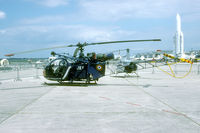 1517 @ LFPB - This Alouette was on the static of the 2002 Salon at Le Bourget.