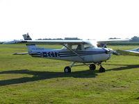 D-ECTZ @ EDKA - Cessna CF150L D-ECTZ Westflug Aachen - by Alex Smit