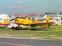 G-TRIC @ MCV - DeHavilland Canada DHC-1 Chipmunk at Madrid Cuatro Vientos Airport