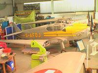 G-AFOJ - DeHavilland D.H.94 Moth Minor at the Mosquito Aircraft Museum