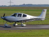 D-EXXY @ EDKA - Cirrus Aircraft SR22 D-EXXY - by Alex Smit