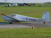 D-KAOD @ EDKA - Scheibe SF-25C Falke D-KAOD - by Alex Smit