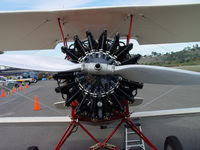 N645H @ POC - Engine/On display at Brackett/Flying in/Flying out