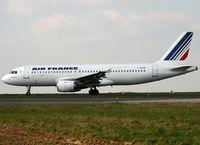 F-GFKM @ LFPG - Arriving from flight... - by Shunn311