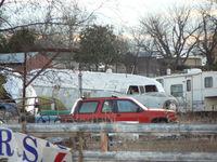 N2823F @ CNW - TSTC T-29B convair being scrapped near Waco, TX